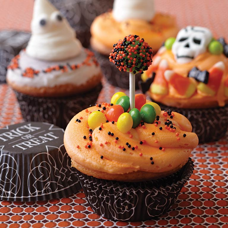 Trick or Treat Cupcakes