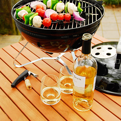 When it comes to summer, everything is more relaxed, including the tried-and-true rules for red and white wines. Flavorful rubs and zesty marinades are made to add flavor, especially when cooked on the grill. Sara Schneider, Wine Editor for Sunset Magazine, shares what wines to pair with your grilled fare.