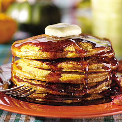 Pumpkin Pie Pancakes Recipes