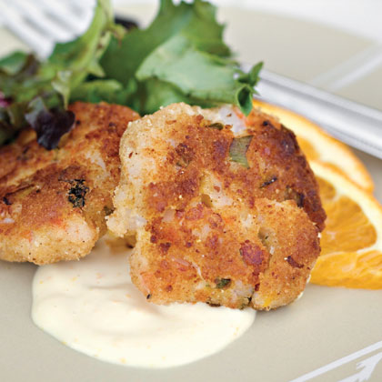 Shrimp Cakes With Citrus Mayonnaise