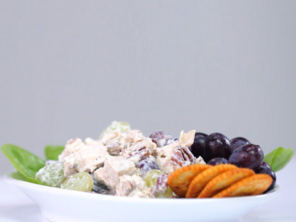 How to Make Chicken Salad with Grapes and Pecans