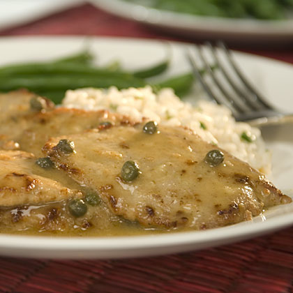 Veal Scaloppine with Lemon & Caper Recipes