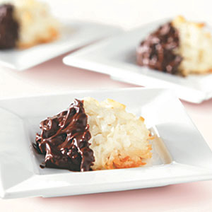 BAKER'S Chocolate-Dipped Macaroons Recipes