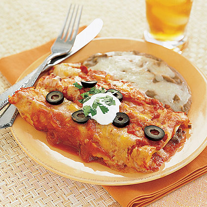 Beef and Cheese Enchiladas