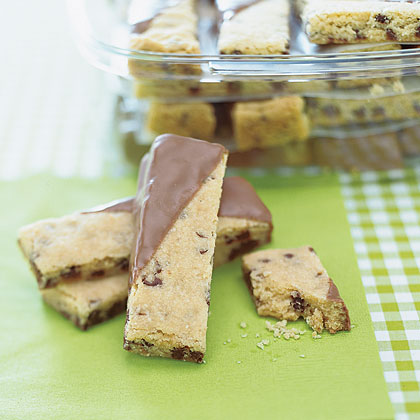 Chocolate-Dipped Shortbread Fingers