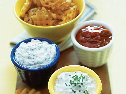 Blue-Cheese-Chive Sauce