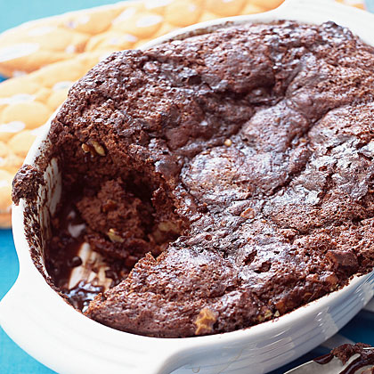 Spiced Chocolate Brownie Pudding