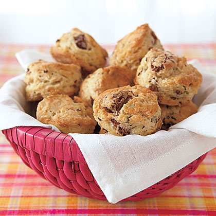 Sausage and Herb Mini Biscuits