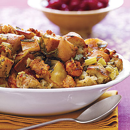 Apple and Sausage Stuffing