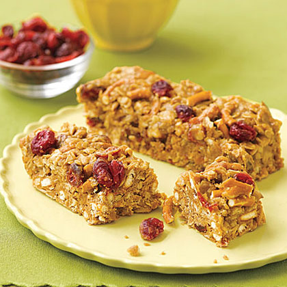 Sweet and Salty Trail Mix Bars