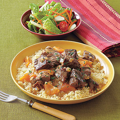 Moroccan Lamb and Apricot Stew