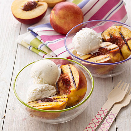 Brown-Sugar Grilled Peaches