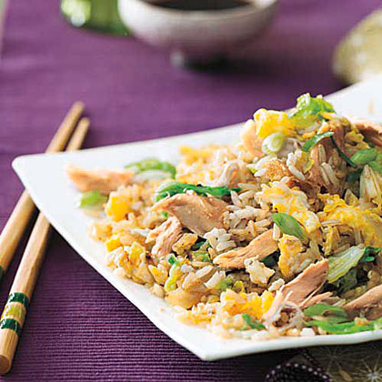 Chicken-and-Cabbage Fried Rice