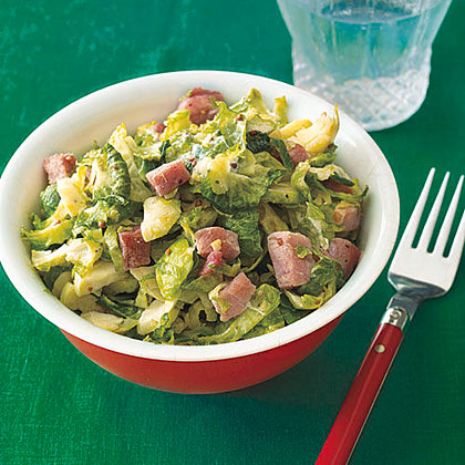 Brussels Sprouts with Ham