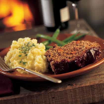Barbecued Meat Loaf