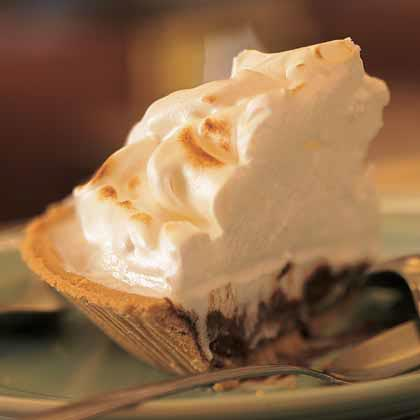 Sky-High Chocolate Pie