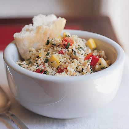 Lemon-Dill Couscous with Chicken and Vegetables