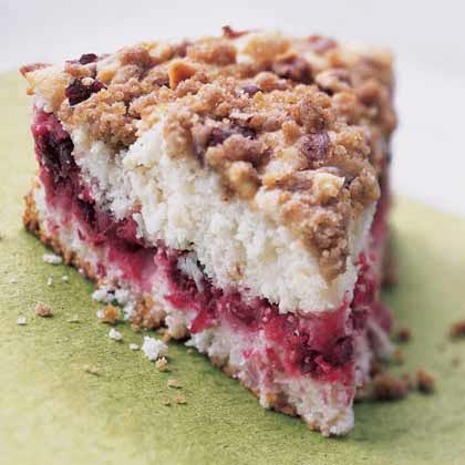 Cranberry-Hazelnut Coffeecake