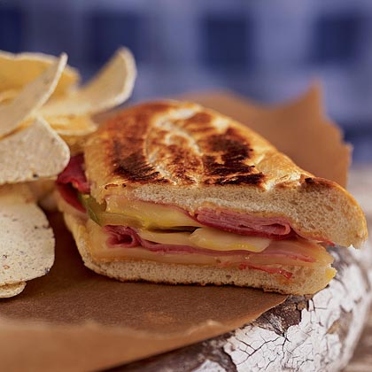 Grilled Cuban Sandwiches