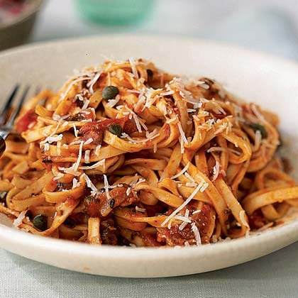 Linguine with Pancetta and Parmesan