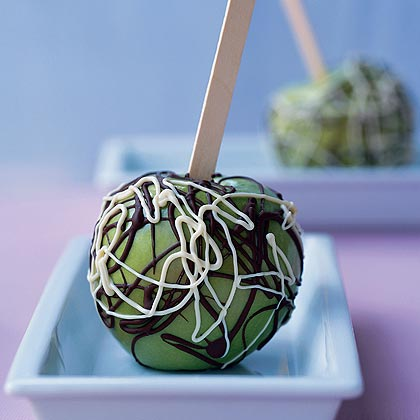 Jackson Pollock Candied Apples