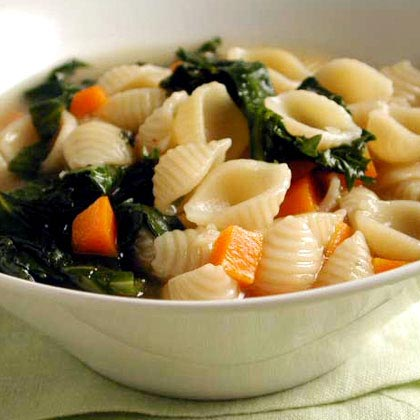 Escarole, Endive, and Pasta Soup