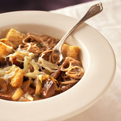 French Onion-Beef Bowl