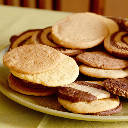 Lemon-Cornmeal Icebox Cookies