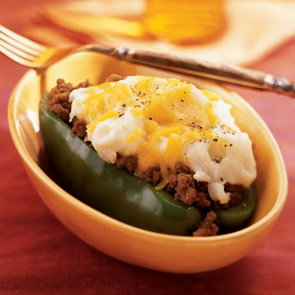 Skillet Stuffed Peppers