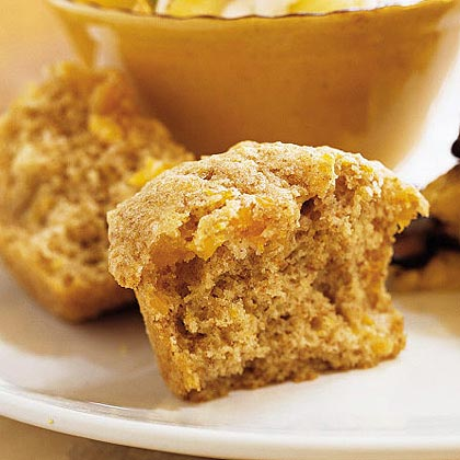 Whole Wheat Apricot Muffins
