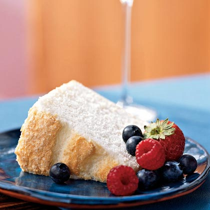 Vanilla Bean Angel Food Cake