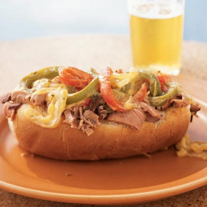 Lean Philly Cheesesteaks