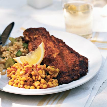 Blackened Grouper