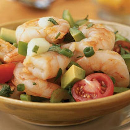 Yucatán Shrimp Cocktail Salad