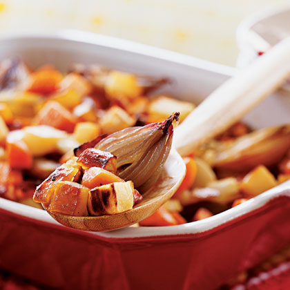 Honey-Roasted Root Vegetables