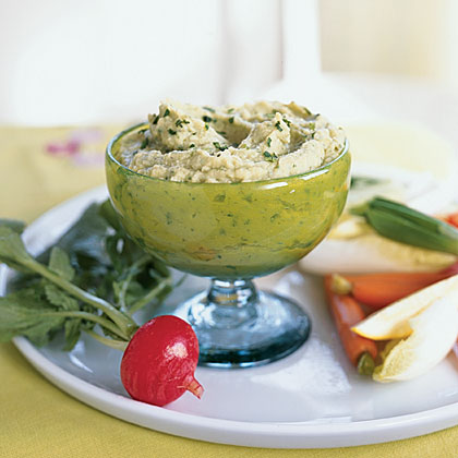 Garlicky Lima Bean Spread