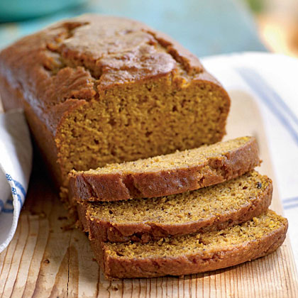 Pumpkin–Honey Beer Quick Bread