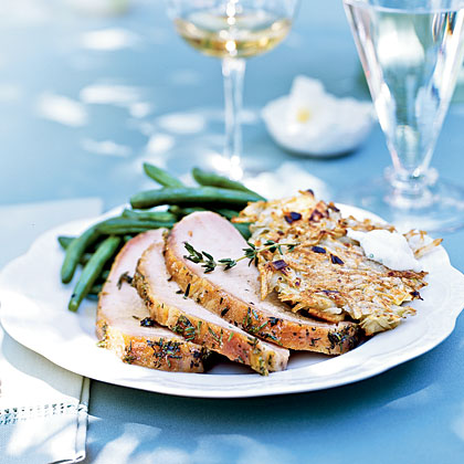 Ginger and Thyme–Brined Pork Loin