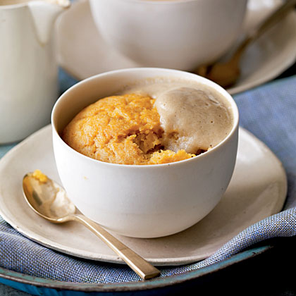 Steamed Butternut Squash Pudding