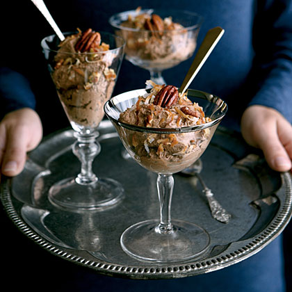 German Chocolate Mousse