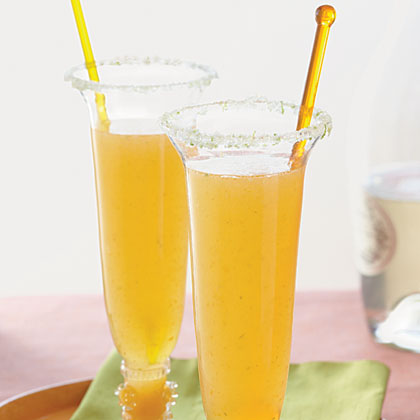 Apricot-Ginger Bellinis