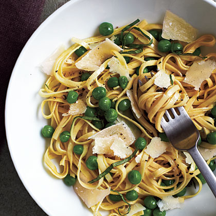 Spring Linguine with Basil