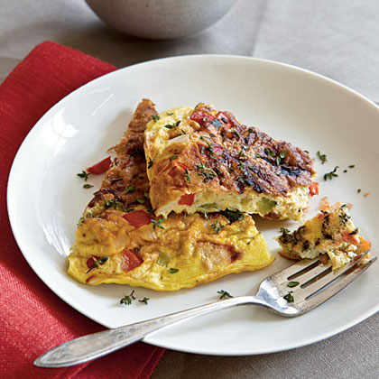 Summer Vegetable Frittata