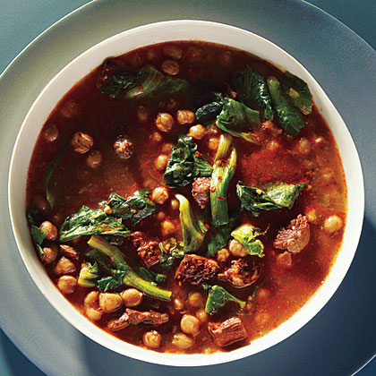 1-Hour Spanish Chickpea Soup