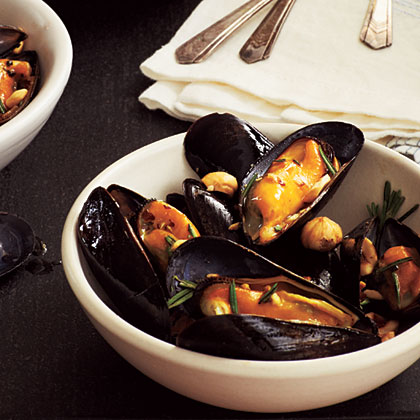 Nutty Mussels