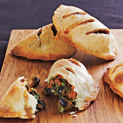 Sweet Potato and Black Bean Empanadas