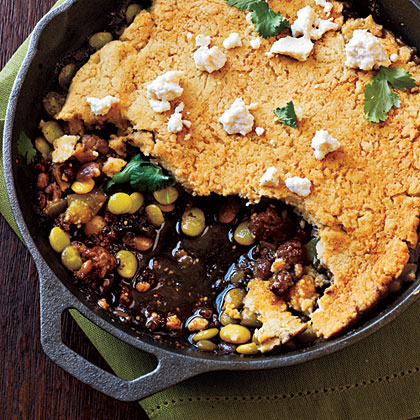 Green Chile Tamale Pie