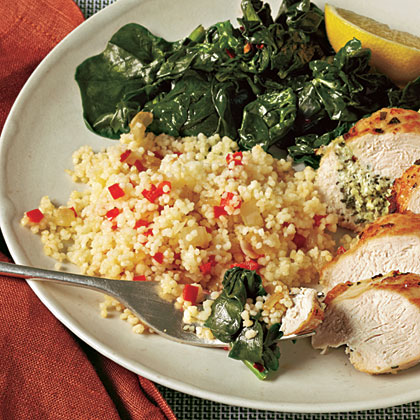 Red Pepper Couscous