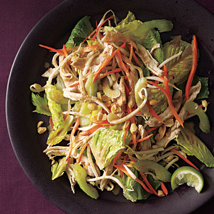 ck-Thai Chicken Salad with Peanut Dressing