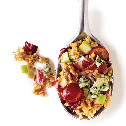 Waldorf Salad with Steel-Cut Oats